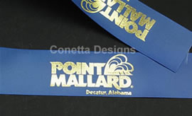 Samples: Continuously Printed Ribbon - Conetta Designs